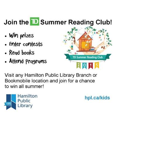 HPL Summer Reading Club