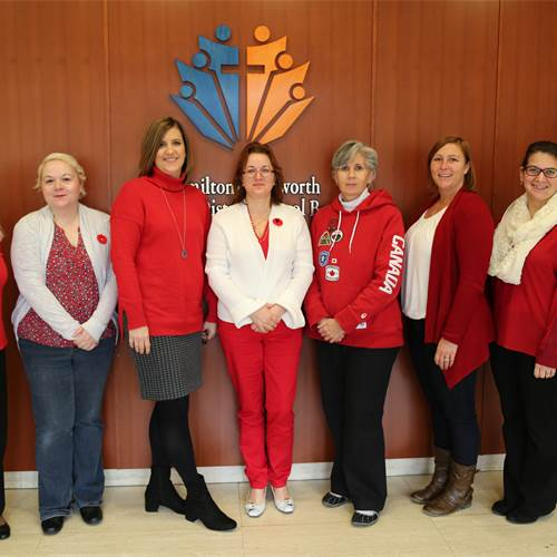 Red & White Day for the United Way